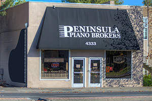 Peninsula Piano Brokers Store